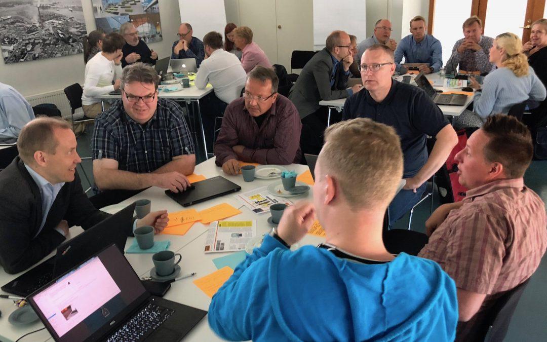 RASTI-projektin työpaja 2 asetti tavoitteita ja määritteli askelmerkkejä